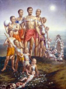 همان گونه که روح قالب گرفته به طور مداوم در این بدن از کودکی به جوانی و سپس به پیری گذر می کند، به همین ترتیب در زمان مرگ نیز روح به جسم دیگری وارد می گردد. فردی که به طبیعت روحانی خود واقف است از چنین تغییری حیران و سرگشته نمیشود.